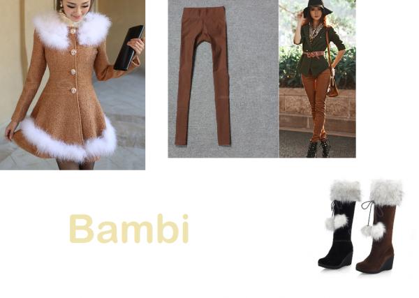 Bambi - hiver