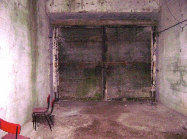 Intérieure du tunnel