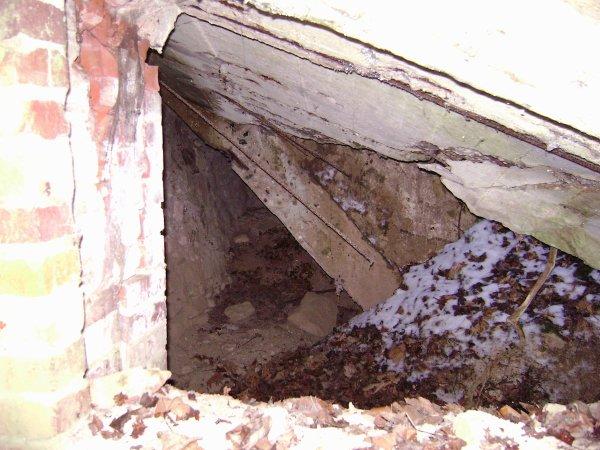 Bunker après les bombardements