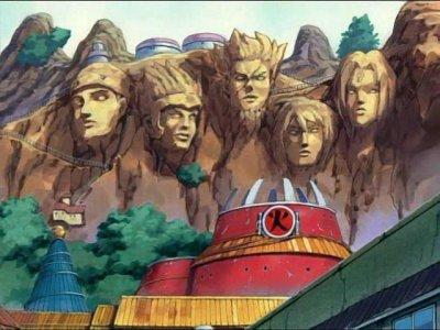 Les Hokages de Konoha.