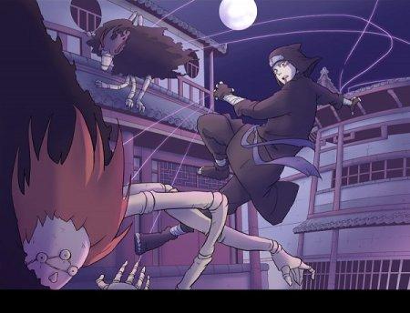 Kankuro - Combat