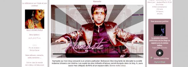 Présentation de Bolly-Dream-World - Géré par Sisi - Existe depuis le 26/05/09 - 22 Articles - Blog sur Bollywood