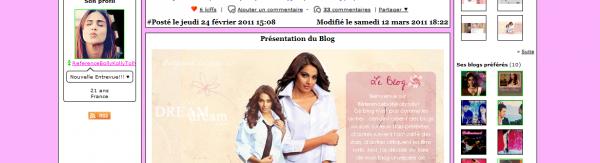 Présentation de ReferenceBollyKollyTolly - Géré par Fuziha - Existe depuis le 15/11/10 - 11 Articles - Blog sur Bollywood, Kollywood & Tollywood