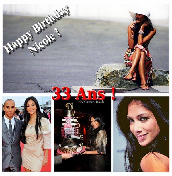 . .....................................Nicole Scherzinger fête ses 33 ans aujourd'hui, Mercredi 29 Juin 2011 !.