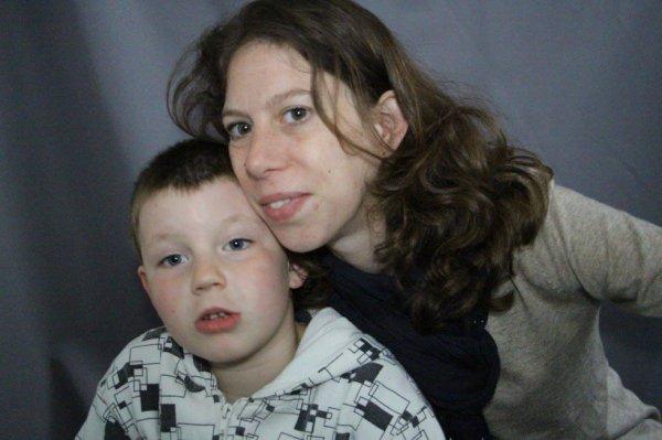 moi et mon fils que j aime foré