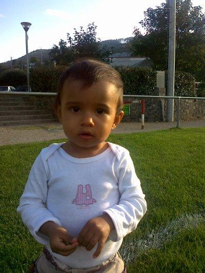 Ma fille octobre 2010