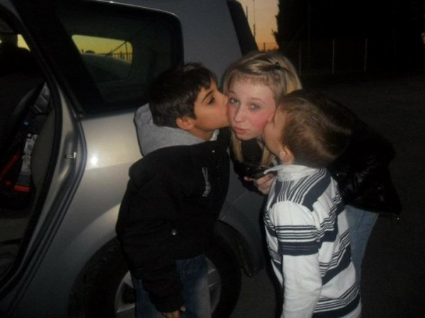 Samuel , Doriane & Ryan  ! ♥