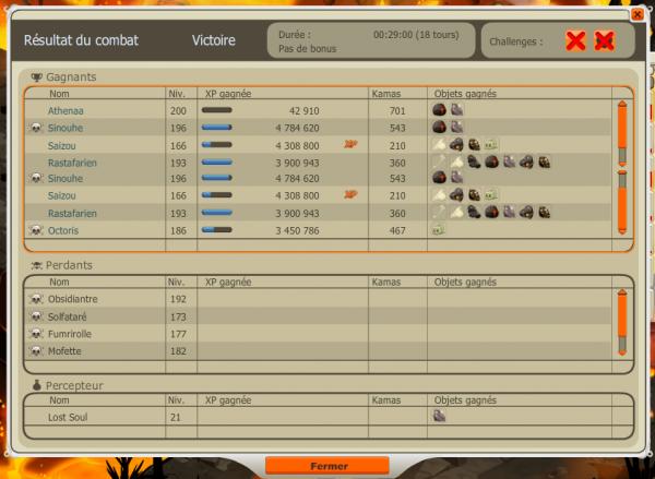 Saizou, Sinouhe et Athenaa ont vaincu l'Obsi...
