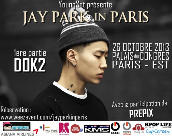 Jay Park in Paris