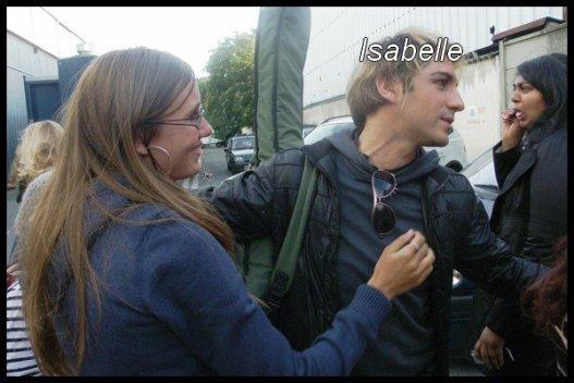 """Rencontre avec Mikele & le reste de la troupe le 14 Septembre 2010 à l'enregistrement de """"Dans l'univers de..."""" :"""