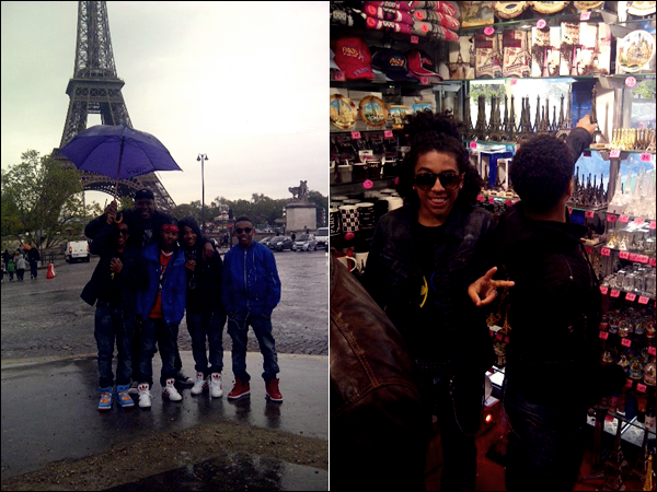 Mindless Behavior En France ( Photo + Video )
