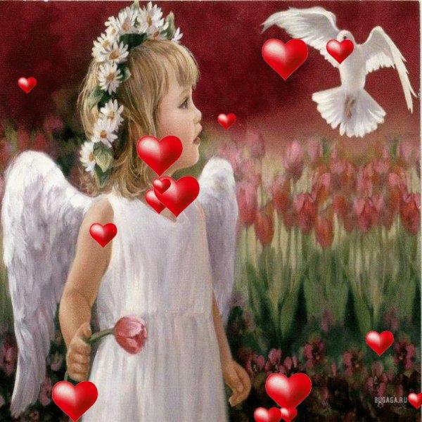 l ange de la paix porte ce message    !!!!!!!!!aumonde