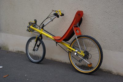 Le vélo d'Aglaé