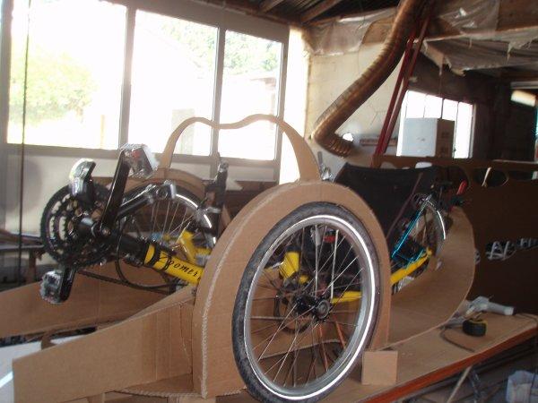 Une carrosserie pour mon tricycle