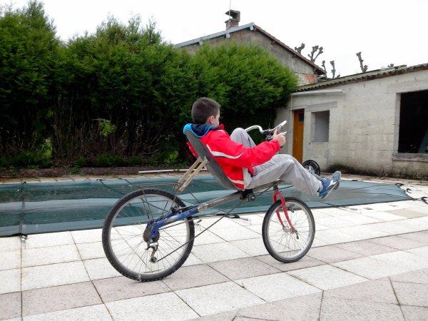 Le vélo d'Aymeric