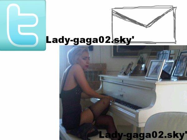->9 juillet 2010 ; GaGa a twitté :
