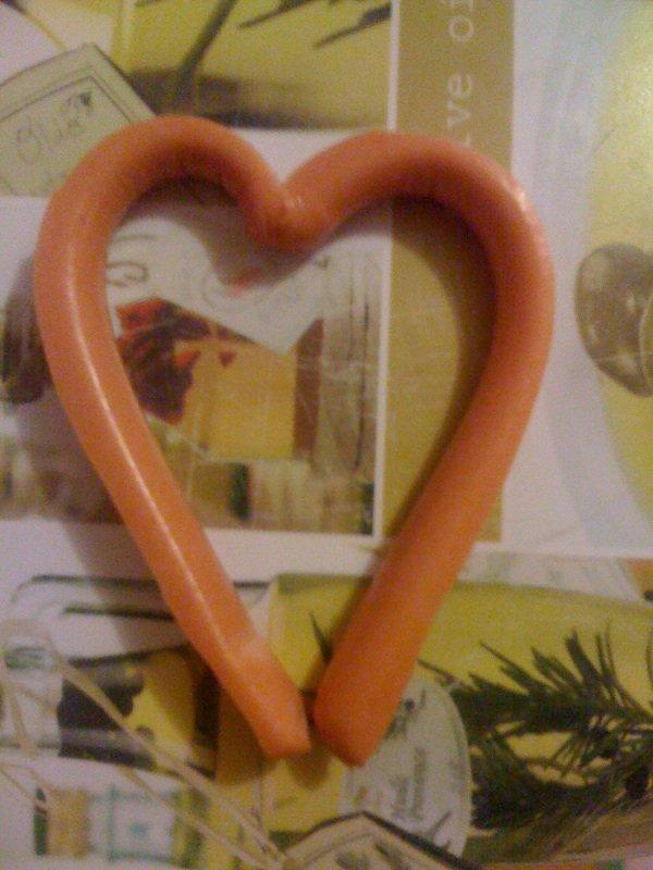 coeur avec de la bouf ;)