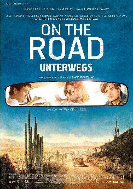 2 affiches de on the road avec kristen stewart!