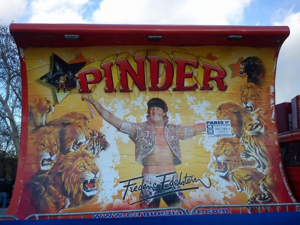 Le cirque pinder à Paris, du 15 novembre 2012 au 13 janvier 2013 (Présentation)