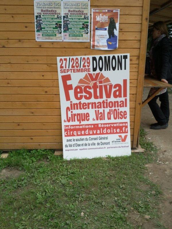 14e festival international du cirque du val d 39 oise for Domont val d oise