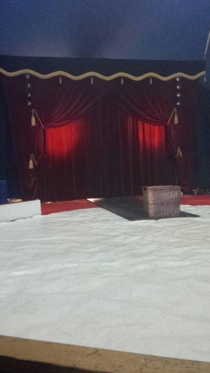Le cirque Français à Ploubalay (22) le 24 juillet (Sous le chapiteau)