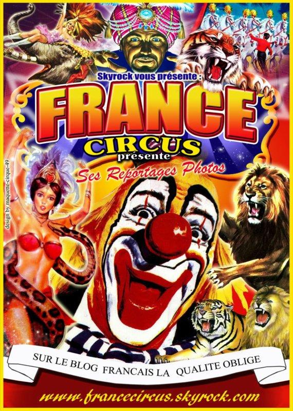 Bienvenue sur le blog Francecircus dédié uniquement au reportage photo sur différents cirque en Île-de-France et en Bretagne