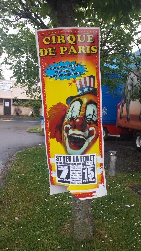 Le cirque de Paris à Saint-Leu la forêt (95) du samedi 7 au dimanche 15 mai 2016 (présentation)