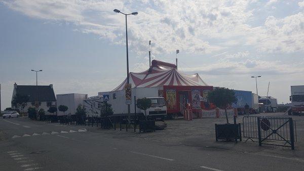 Le cirque Gervais à Ploubalay (22) du dimanche 28 au mardi 30 août 2016 (Présentation)