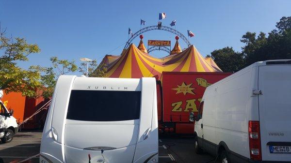 Le cirque Achille Zavatta à Montigny-les-Cormeilles (95) du vendredi 16 Septembre au samedi 1er Octobre 2016 (Présentation)