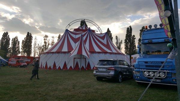 Le cirque Europa à Pontoise (95) du mercredi 5 au dimanche 16 octobre 2016 (Présentation)