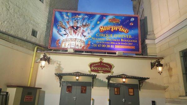 Le cirque d'hiver Bouglione à Paris 11ème (75), jusqu'au 26 février 2017 (Extérieur)
