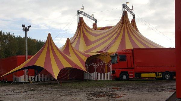 Le cirque Lydia Zavatta à Franconville (95) du mercredi 9 au dimanche 13 novembre 2016 (Présentation)