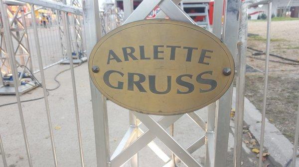 Le cirque Arlette Gruss à Paris 12ème (75) du 18 novembre au 11 décembre 2016 (Présentation)