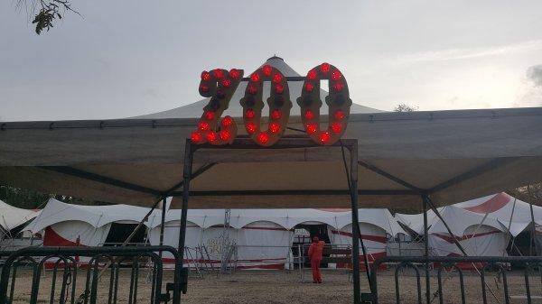 Le cirque Arlette Gruss à Paris 12ème (75) du 18 novembre au 11 décembre 2016 (Le zoo)