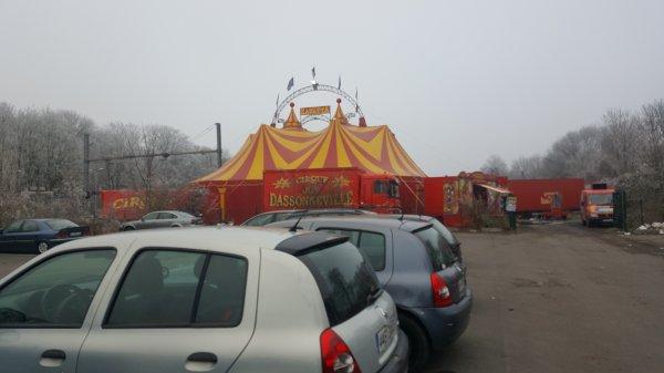 Le cirque Achille Zavatta/Joy Dassonneville à Sevran (93) du 21 décembre 2016 au 4 janvier 2017 (Présentation)