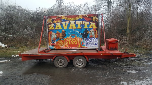 Le cirque Achille Zavatta/Joy Dassonneville à Sevran (93) du 21 décembre 2016 au 4 janvier 2017 (Affichage)