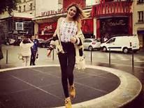 Tini a Paris !!!