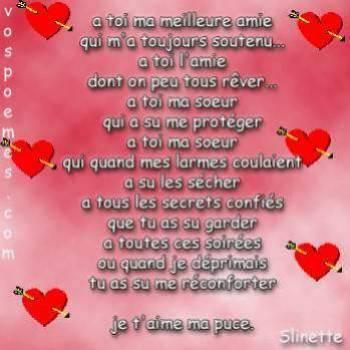 Poème De Lamitié My Blog Hit