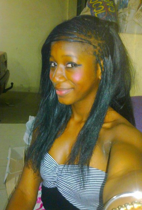 Thiis is an AfriiCan giRl