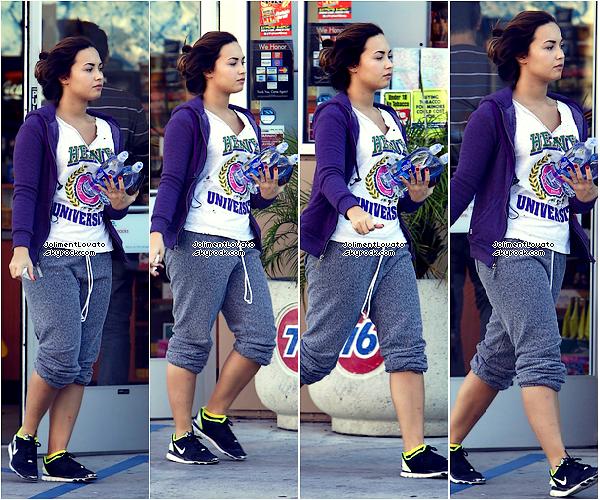 07/10/11 Demi a une station allant chercher une bouteille d'eau :)