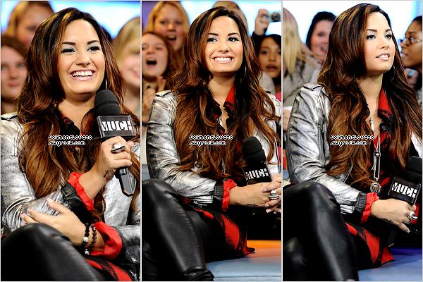 13/10/11 Demi fait une apparition sur New Music Live à Toronto