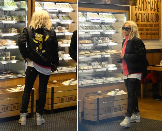 6/11/13 :Rita Ora dans les rues de Londres