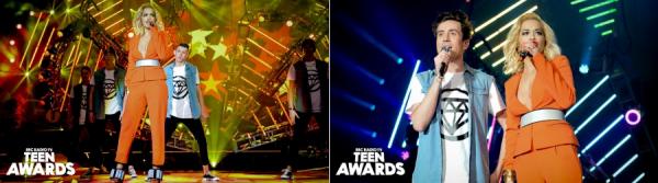 3/11/13 :Rita Ora performant et présentant la cérémonie des Teen Awards 2013 au Wembley Arena