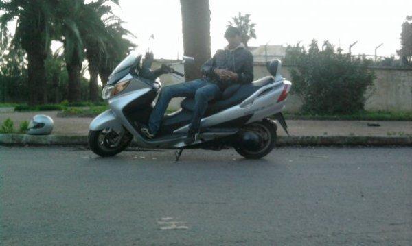 ANASS por la moto