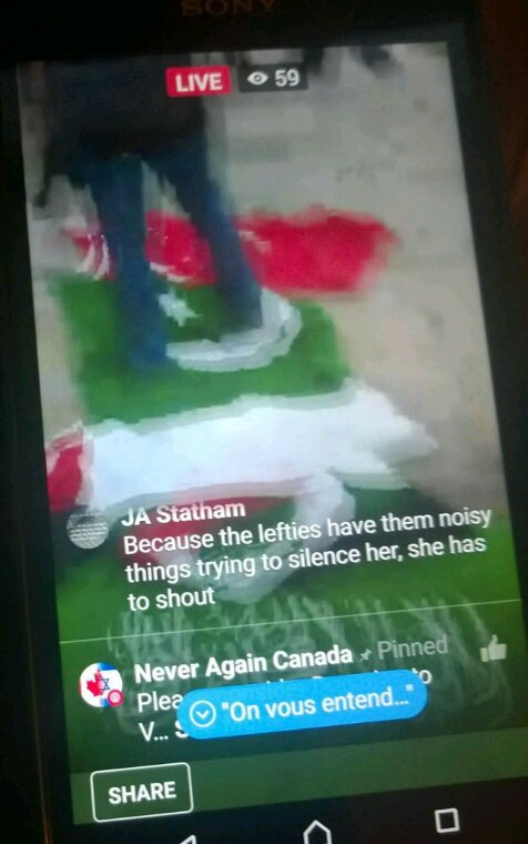 INSULT OF PAKISTANI FLAG CANADA PRESIDENT AGHA HASSAN SYED AND JAMAL TAKKKO