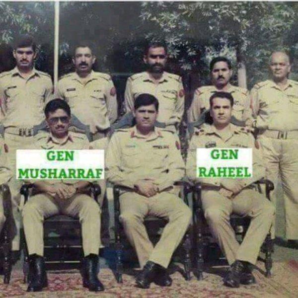 COLONEL S.Q.H.KHALID VS GENERAL RAHEEL SHAREEF AND GENERAL MUSHARAF GENERAL KIYANI. PRESIDENT AGHA HASSAN SYED/ JAMAL TAKKKO