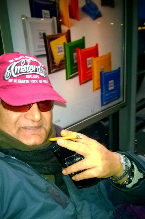 Cologne train station President Agha Hassan Syed / Chairman Jamal Takkko