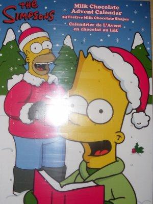 Calendrier de l'avent The Simpsons 2014