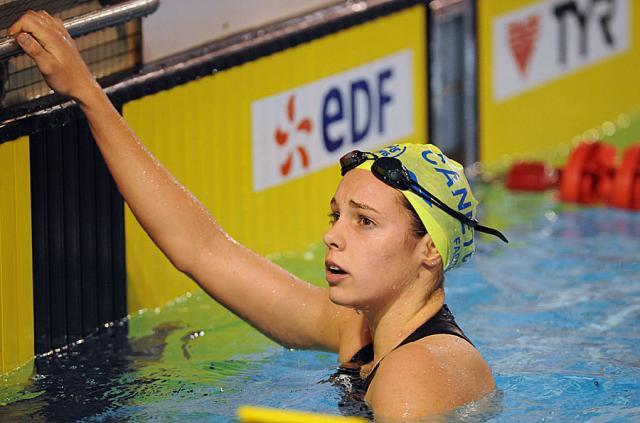 La jeune nageuse Languedocienne