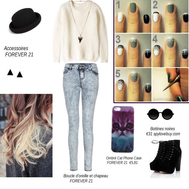 Black color...